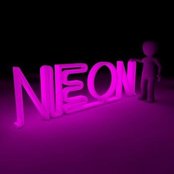 """NEON Sign Vinyl Roll (12"""" x 15')"""