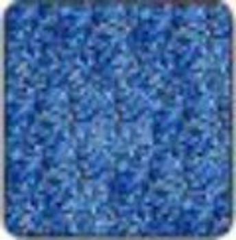 "Alpha Premium Vinyl Metal Flake Blue 15"" x 12"" sheet"