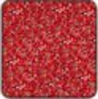 "Alpha Premium Vinyl Metal Flake Red 15"" x 12"" sheet"