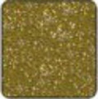 "Alpha Premium Vinyl Metal Flake Gold 15"" x 12"" sheet"