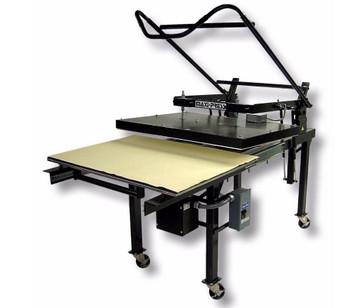 GEO Knight MAXI-Press Large Format Manual Heat Press series