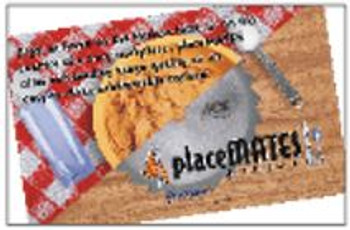 "PlaceMATES Sublimatable Placements 10"" x 16"" (10 pack)"