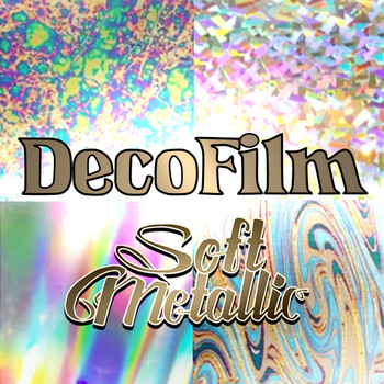 DecoFilm Soft Metallics HTV Sheets, Yards, & Rolls