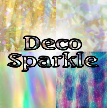 DecoSparkle HTV Sheets, Yards, & Rolls