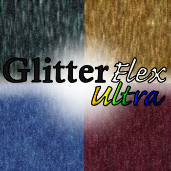 GlitterFlex Ultra Primary Colors Sheets, Yards, & Rolls