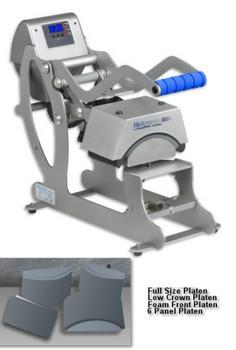 Hotronix Digital Auto Cap Press w/4 Attachments