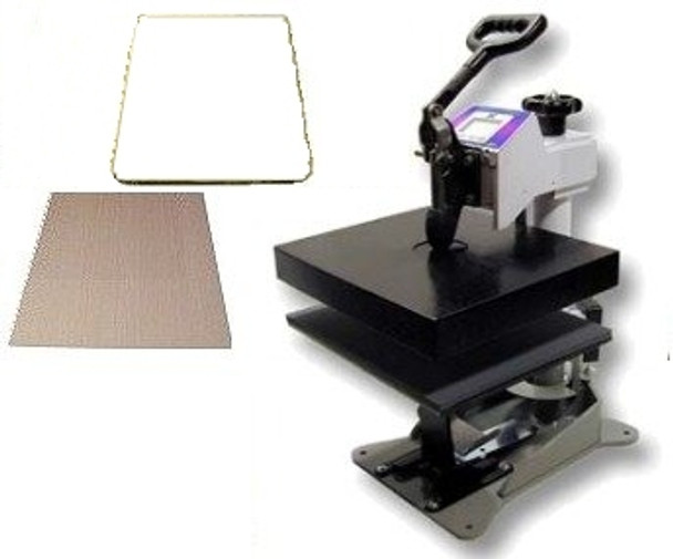 The DC16C heat press set-up package