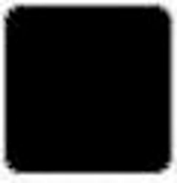 """Alpha Premium Vinyl Black 15"""" x 12"""" sheet"""