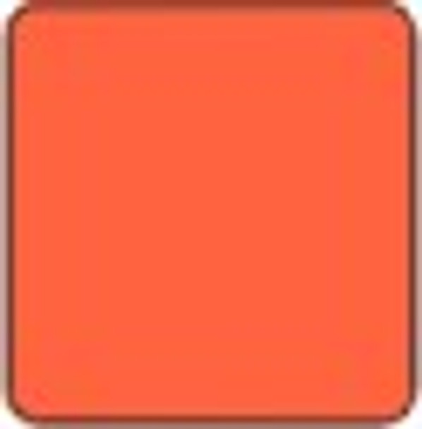 "Alpha Premium Vinyl Orange 15"" x 12"" sheet"