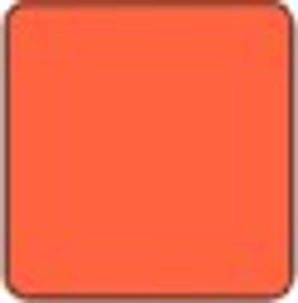 "Alpha Premium Vinyl Orange 15"" x 12"" sheet"