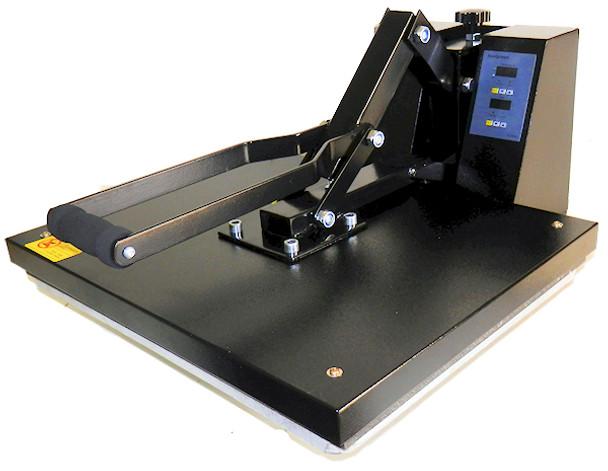 "ShirtMate 16"" x 20"" heat press machine"