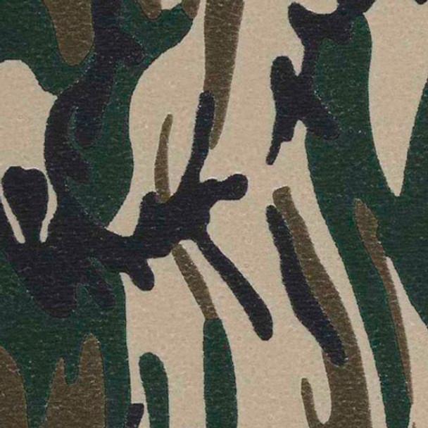 """Fashion Army Camo 15"""" x 5yd"""
