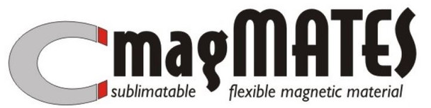 """MagMATES Sublimation Blank Magnets 2"""" x 3.5"""" (100 pack)"""