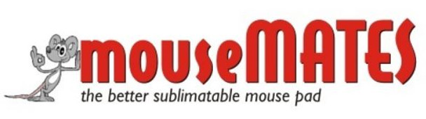 MouseMATES Sublimation Blank Mousepads (25 pack)