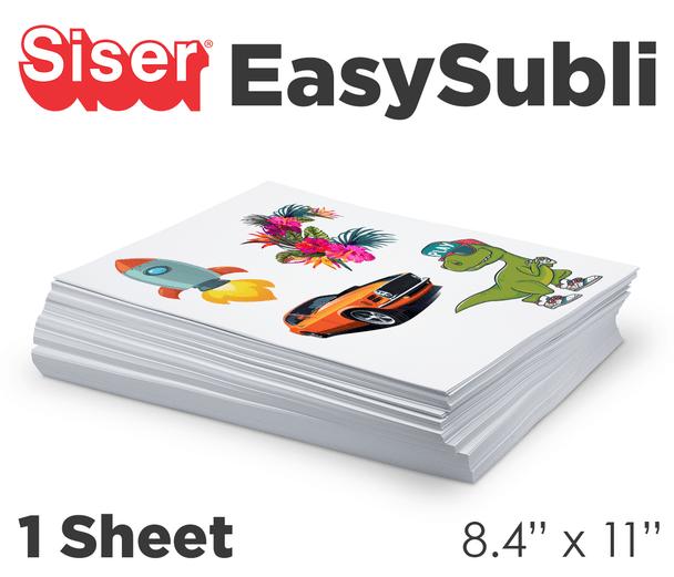"""EasySubli sheets 8.4"""" x 11"""""""