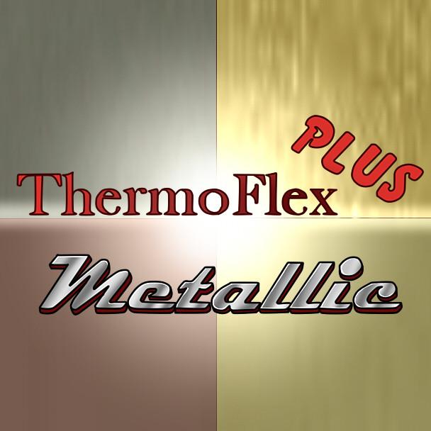 ThermoFlex Plus Metallic HTV Sheets, Yards, & Rolls