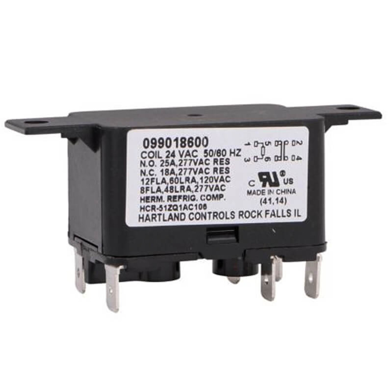 13W13 - Fan Blower Relay on