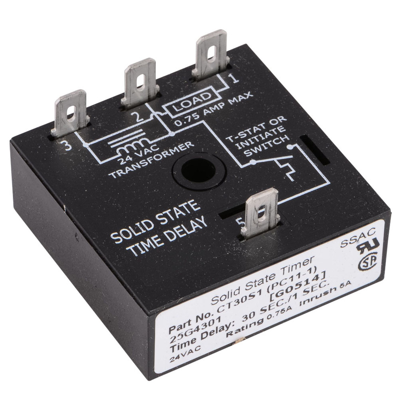 25G43 - Time Delay Relay
