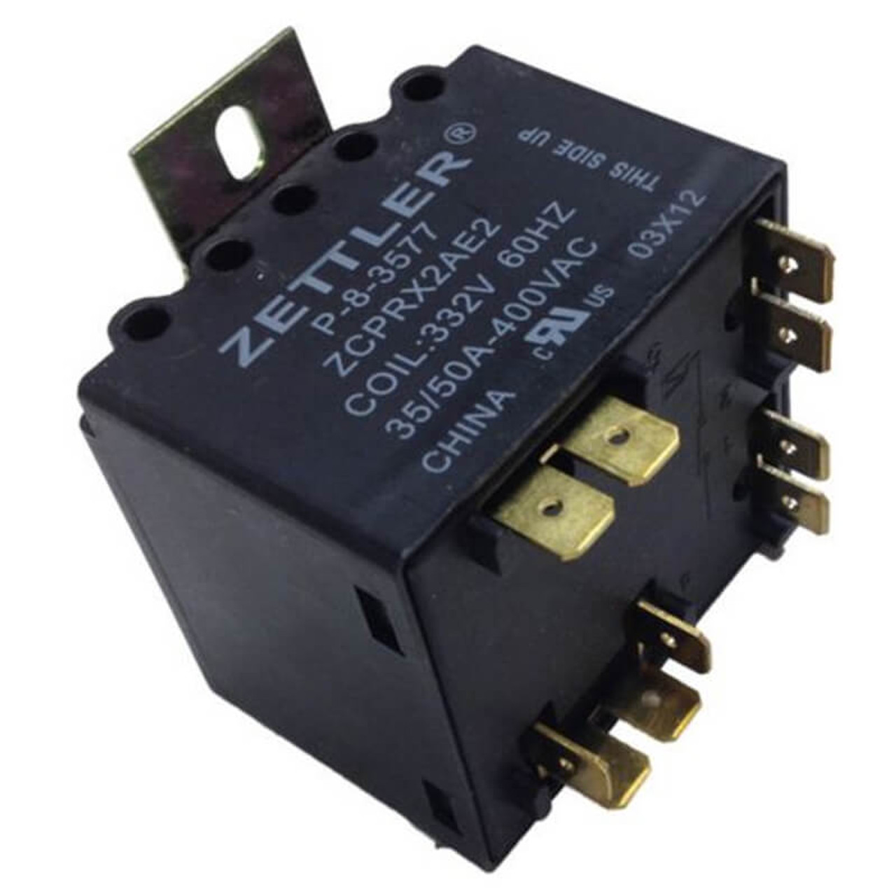 Zettler Potential Relay Wiring  Potential Relay Drawing