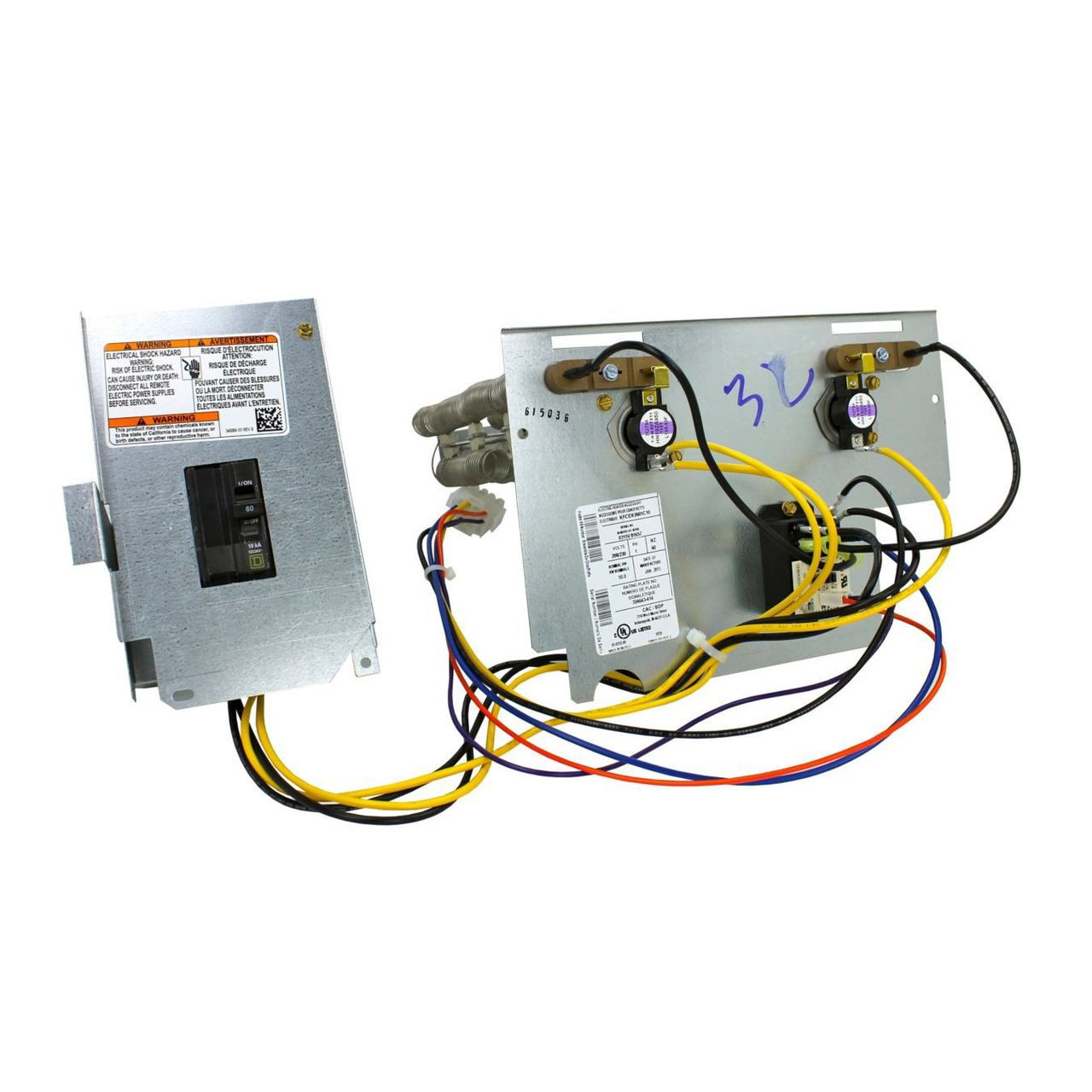Trane Kfceh2501c08 Heating Kit 8 Kw   240v W  Internal