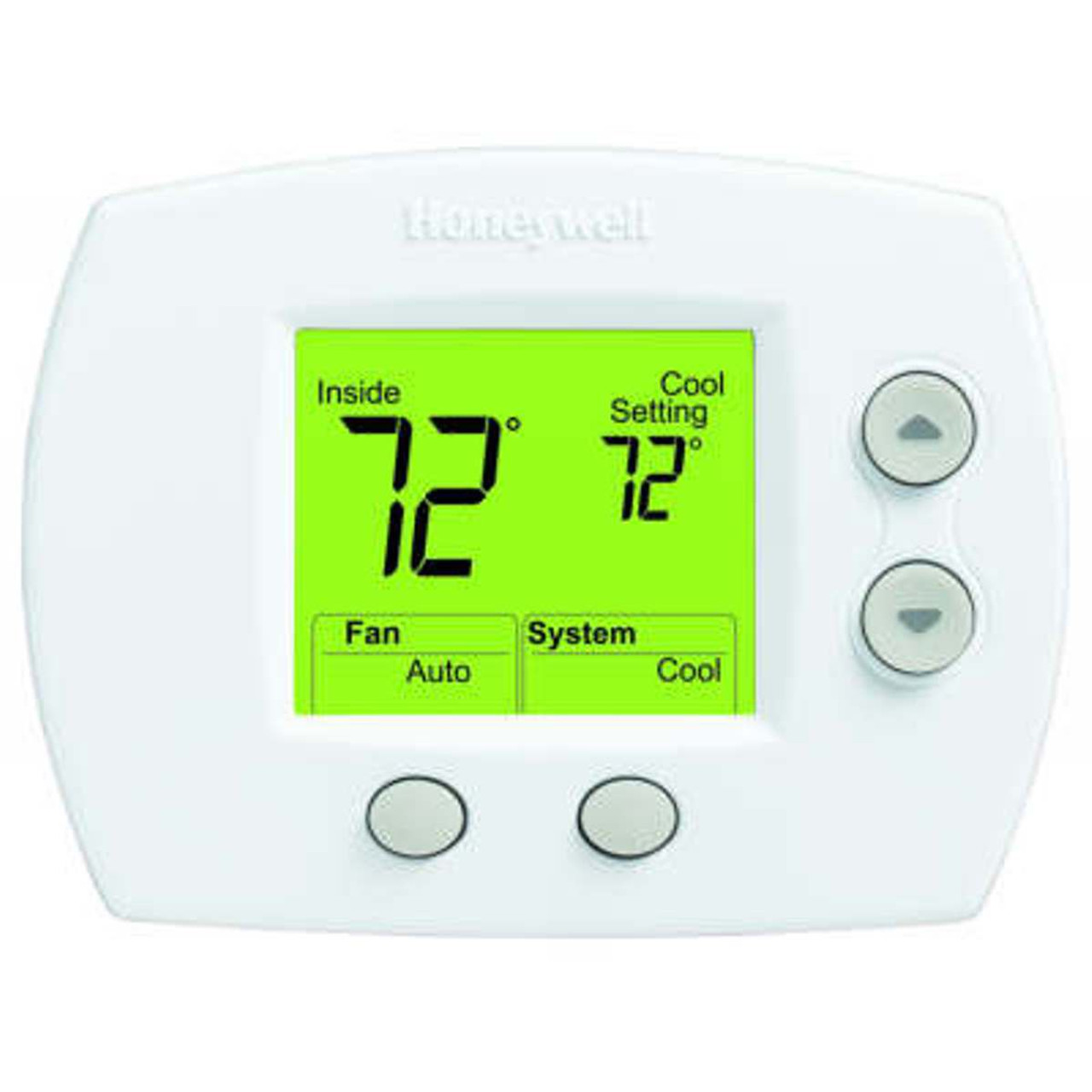What Is Auxiliary Heat >> Th5110d1006 Thermostat 1h C Conventional Or Hp W O Auxiliary Heat