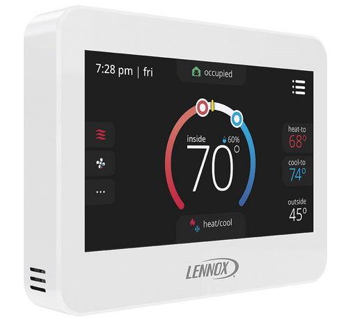 17G75 - CS8500 ComfortSense 8500 Commercial Programmable Thermostat, Non-Zoning