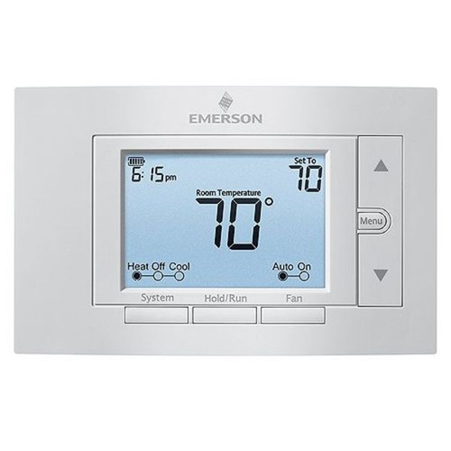 """1F85U-22NP - Thermostat Non-Programmable 5"""" Display 2H/1C Dual Fuel"""
