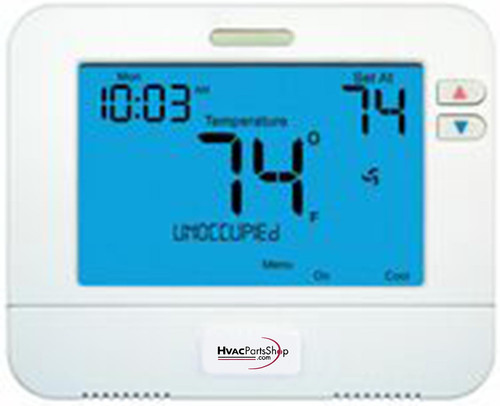 TP-S-855C - Programmable Or Non-Programmable Thermostat