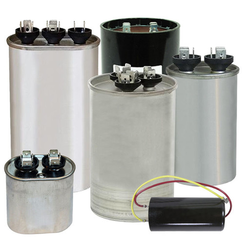 RS39232D002 - Capacitor 5 MFD @ 370V Round & Boot