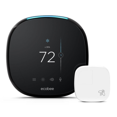 Y9906 - ecobee4 Pro Smart Thermostat with Room Sensor