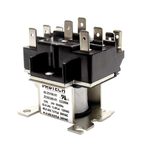 42-25106-01 - Relay - DPDT (24VAC coil)