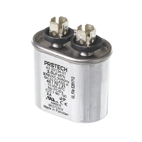 43-25134-01 - Capacitor - 3/370 Single Oval