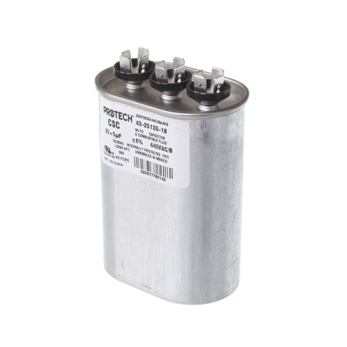 43-25135-18 - Capacitor - 35/5/440 Dual Oval