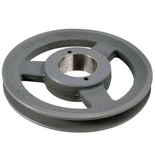 "12L25 - Single Groove A Section Pulley 6 1/4"" Outside Diam. 1"" Bore"