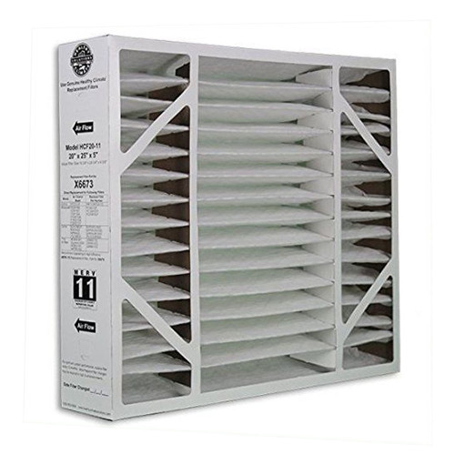 X0587 - HEALTHY CLIMATE Replacement Media BMAC-20CE MERV 11 20X26X5