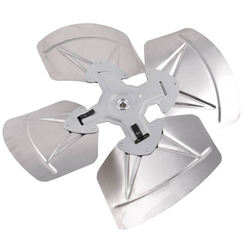 """99C63 - 4 Blade Fan Assembly 20"""" Diameter 1/2"""" Bore, ROT-CW, Pitch- 19"""