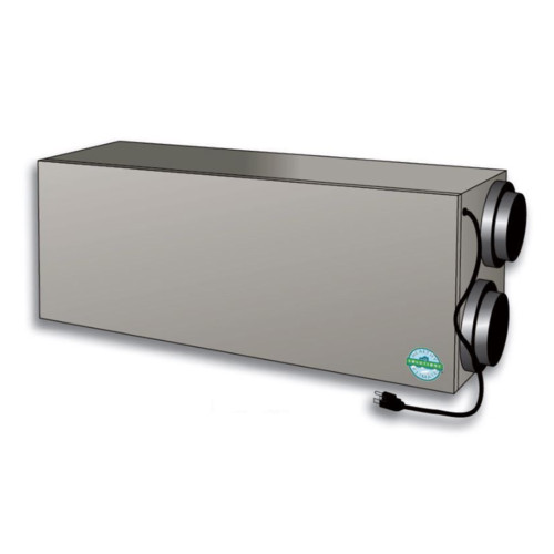 17Y65 - Healthy Climate HRV3-195 Heat Recovery Ventilator, Dual Core