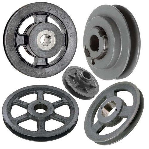 """56935 - P-8-1493 Pulley-Motor 1-1/8""""""""Bore, 6-3/4""""""""Od,"""