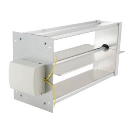 "X4220 - 8"" x 16"" Rectangular Damper, Side Mount"