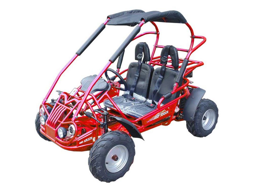 PREMIUM PACKAGE - TrailMaster Mid XRX-R Go Kart w/ Reverse - ASSEMBLED - Ships FREE!!!