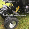TrailMaster Blazer4 150 Go Kart - Aggressive Tire Tread