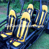 TrailMaster Blazer4 150 Go Kart - 4 Seats with Safety Harnesses