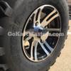Polished Aluminum Black/Chrome Wheels