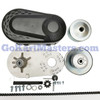Mini Bike Torque Converter Kit w/ 4' #35 Chain