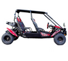 TrailMaster Blazer4 150X Go Kart - Side View
