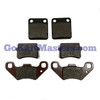 TrailMaster Comp. Set Brake Pads/Front & Rear/ALL 150 & 300XRS Go Karts & Challenger
