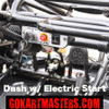 TrailMaster 150 XRS Go-Kart - Dash with Electric Start