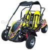 TrailMaster Blazer 200R Go Kart w/ Reverse - Yellow