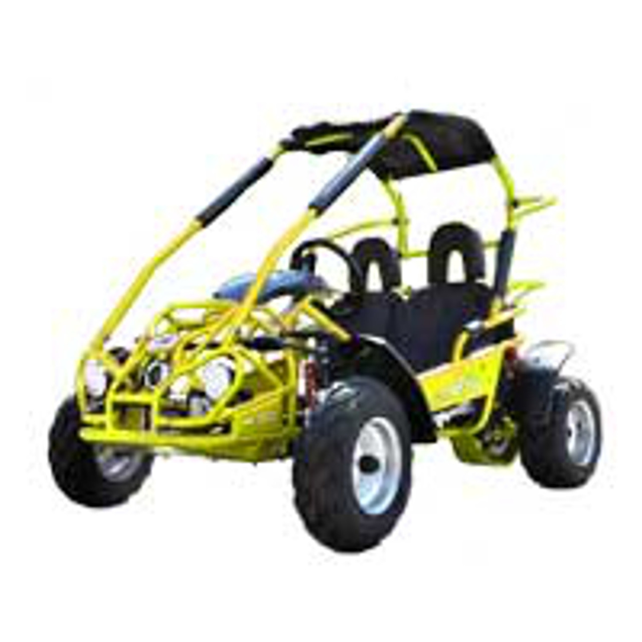 TrailMaster Mid XRX Go-Kart - Yellow