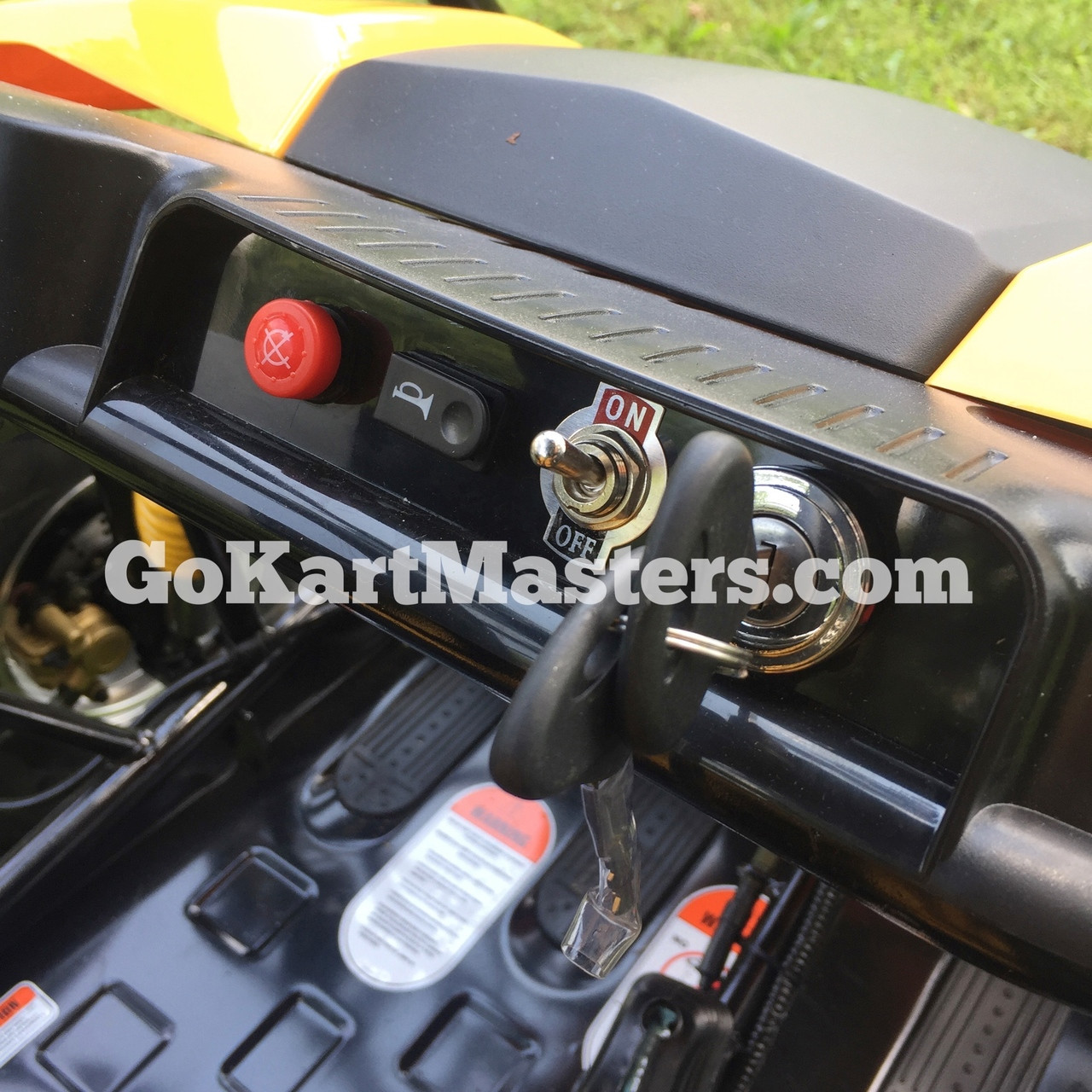 TrailMaster Blazer4 150 Go Kart - Instrument Panel
